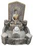 Fonte Templo de Buda com Bola de Cromoterpia