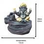 Porta incenso de refluxo Ganesha