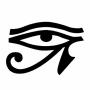 Adesivos Olho de Horus (Udyat)