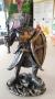 Templario com Machado e Escudo