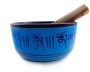 Orin (Sino Tibetano) tibetan bowl Azul
