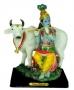 Krishna com  vaca